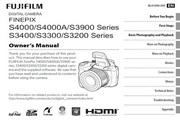 富士FinePix S3300数码相机 使用说明书