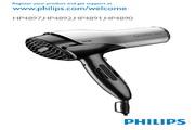 PHILIPS HP4897电吹风 说明书