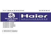 海尔 波轮全自动洗衣机XQB45-728型 说明书