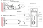三泰FTS-6011 Series RS-232转光纤转换器使用手册