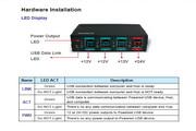 三泰PUB1300H 4埠 PoweredUSB 集线器使用手册