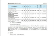 汇川MD380-5T280G型高性能矢量变频器使用说明书