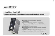 芯惠通KorenixJetNet3005f工业级光纤以太网交换机产品说明书
