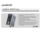 芯惠通KorenixJetNet3005f-mw工业级宽温以太网交换机产品说明书