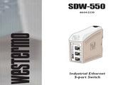 Westermo SDW-550系列工业交换机使用手册