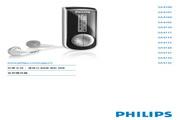 Philips SA4110音频播放器 用户手册