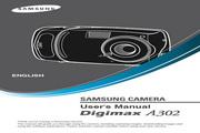 三星 Digimax A302数码相机 使用说明书