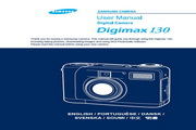 三星Digimax 130数码相机 使用说明书