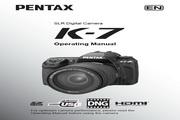 <i>宾得</i> 数码相机K-7型 使用<i>说明书</i>