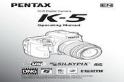 <i>宾得</i> 数码相机K-5型 使用<i>说明书</i>
