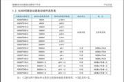 汇川IS300T300-C伺服驱动器使用说明书