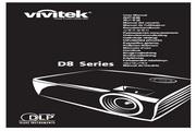 丽讯Vivitek D851+投影机 说明书