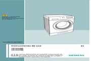 西门子 WD14H420EE洗衣机 英文使用说明书