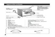 LG WD-1050F洗衣机 说明书
