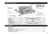LG WD-8052X洗衣机 说明书