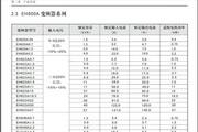西林电气EH620A0.4G变频器说明书