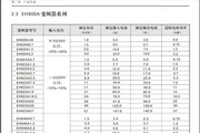 西林电气EH623A5.5G变频器说明书