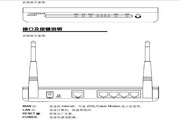 水星11N无线宽带路由器MWR300T型使用说明书