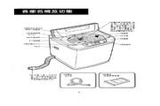 声宝 ES-115SBF型洗衣机 说明书