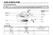 声宝 WMA-105S型洗衣机 说明书