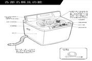 声宝 ES-135SBR型洗衣机 说明书