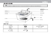 声宝 WMA-106F型洗衣机 说明书
