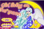 月球可爱女孩...