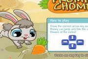 小兔子吃萝卜...
