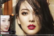 烈焰红唇张雨绮美女主题 1.6.0.3