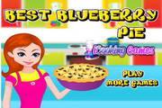 可口的蓝莓派...