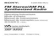 索尼SRF-M95收音机说明书