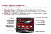 摩托罗拉DROID RAZR M手机说明书