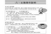 sanyo和弦铃声无线电话机CLT-3032使用说明书