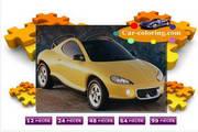 黄色轿车拼图...