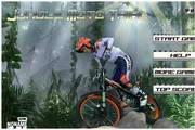 山地极限骑摩托...