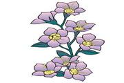 矢量花朵素材92