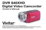 Vivitar威达DVR 840XHD数码摄像机说明书