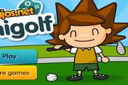 休闲的高尔夫...