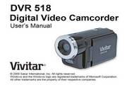 Vivitar威达DVR 518数码摄像机说明书