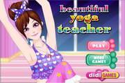 漂亮的瑜伽老师...