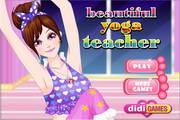 美女瑜伽老师...