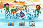 多莉打雪仗