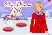 小女孩的冬装...