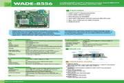 瑞传WADE-8556嵌入式Mini-ITX主板说明书