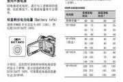 SONY索尼HDR-UX5E数码摄像机使用说明书