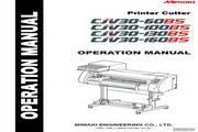 Mimaki CJV30-160BS打印机 英文说明书