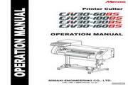 Mimaki CJV30-130BS打印机 英文说明书
