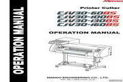 Mimaki CJV30-60BS打印机 英文说明书