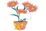 矢量花朵素材93