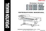 Mimaki CJV30-130打印机 英文说明书
